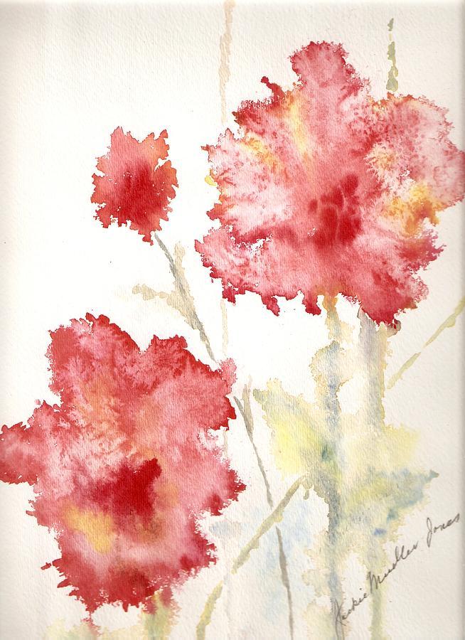 Flowers Painting - My Magic Garden by Jackie Mueller-Jones