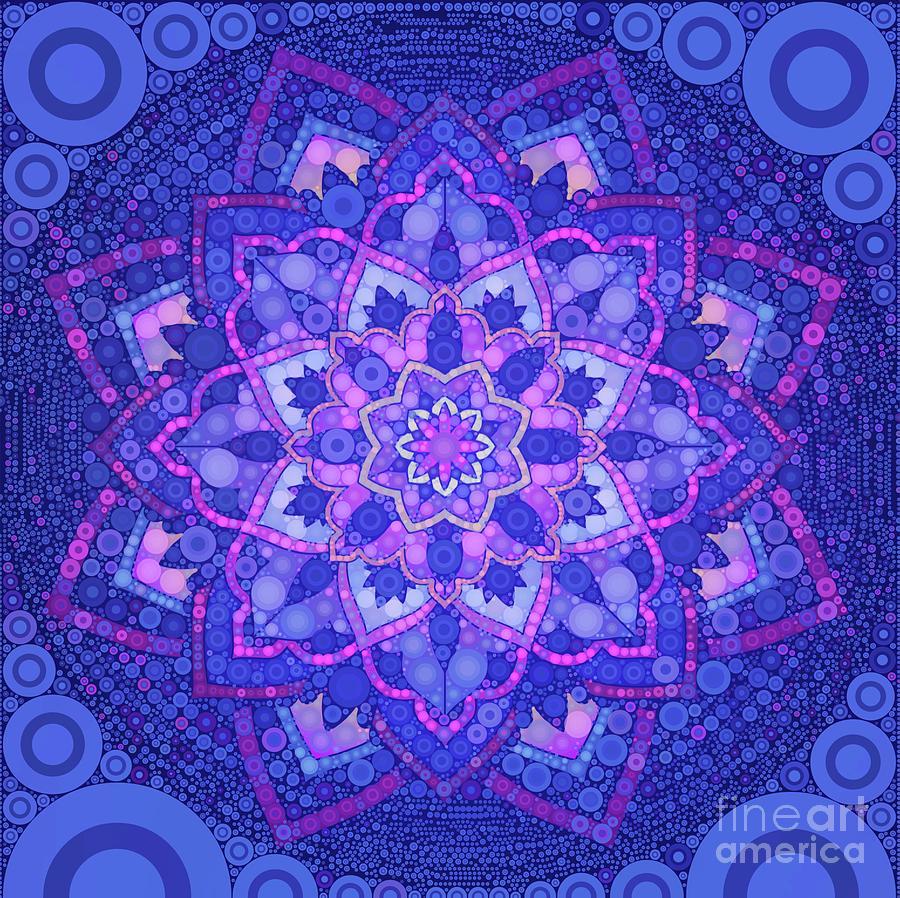 My Mandala, Pop Art By Mb Digital Art