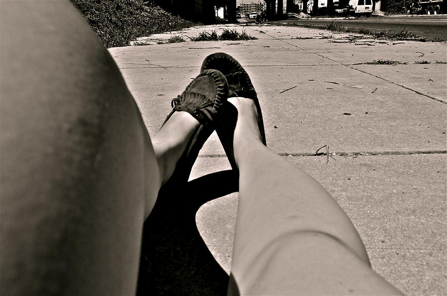 Moccasins Photograph - My Mocs by Brynn Ditsche