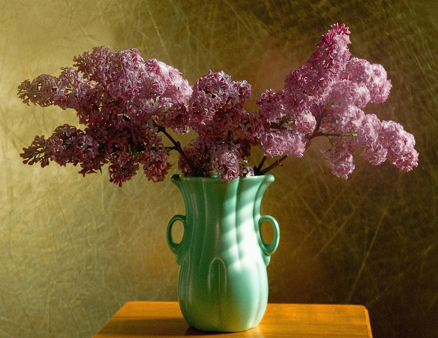 Lilacs Photograph - My Mothers Lilacs by Wendy Blomseth