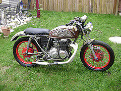 Honda Cb 450 Sculpture - My Motorcycle by Don Thibodeaux