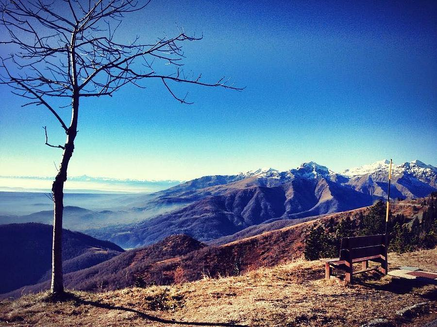 Italy Photograph - My Mountains  by Rossana Azzoni