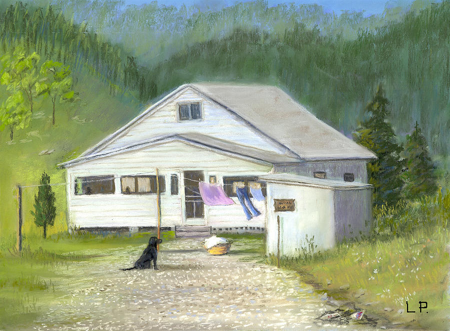 Kentucky Painting - My Old Kentucky Home by Linda Preece