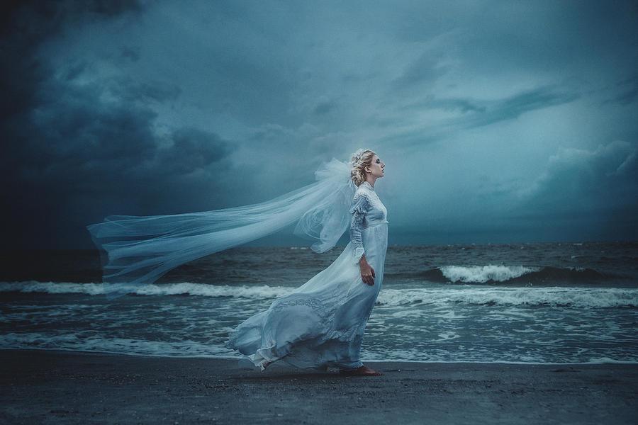 Ocean Photograph - My Sacrifice  by TJ Drysdale