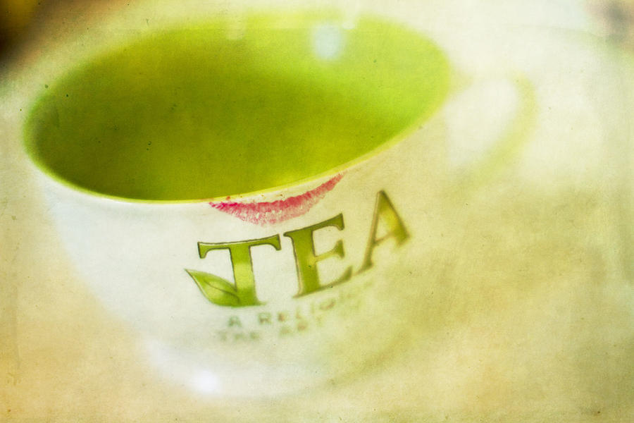 Tea Photograph - My Second Favorite Beverage by Rebecca Cozart