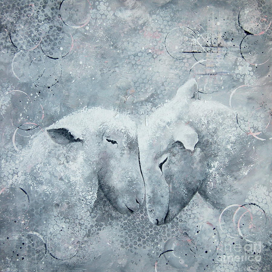 My Sheep Hear my Voice by Tamyra Crossley