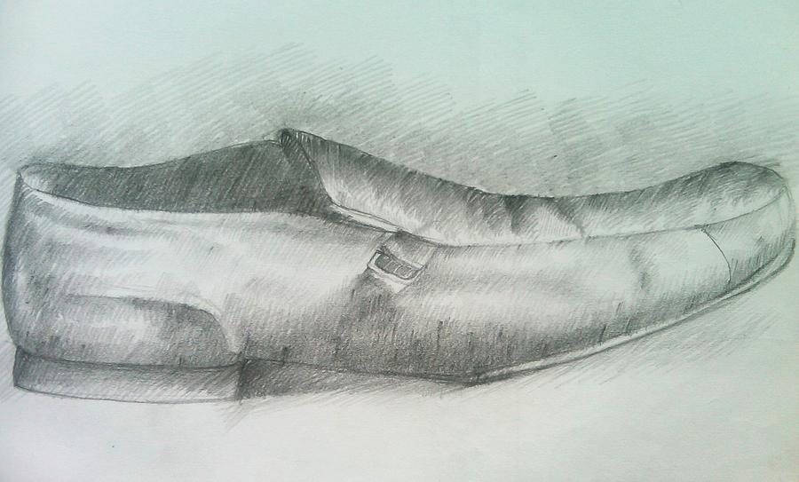 Drawings Drawing - My Shoe by Olaoluwa Smith