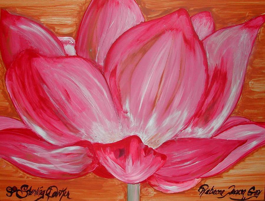 Tree Painting - My Soul My Love My Heart Rebecca Tacosa Gray by Rebecca Tacosa Gray