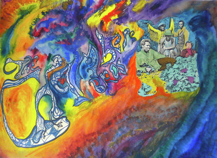 My Souls Been Psychedelized Mixed Media by Dylan Chambers
