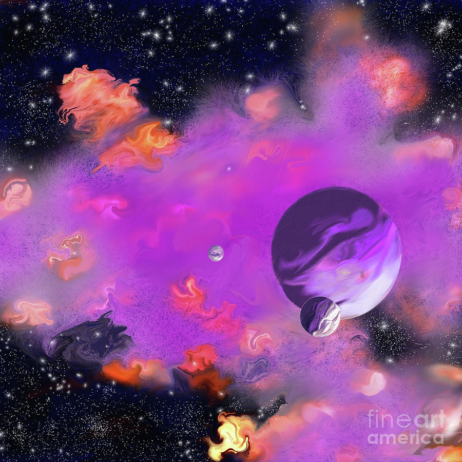 My Space Painting - My Space by Methune Hively
