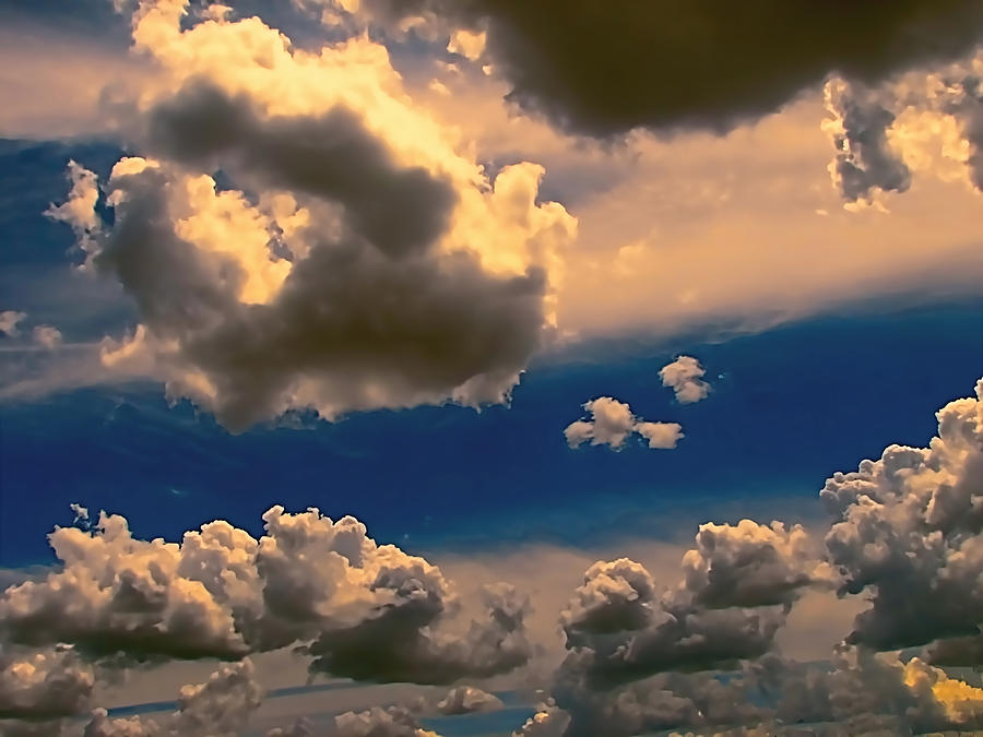 Clouds Photograph - My Sunset Sky by Wendy J St Christopher