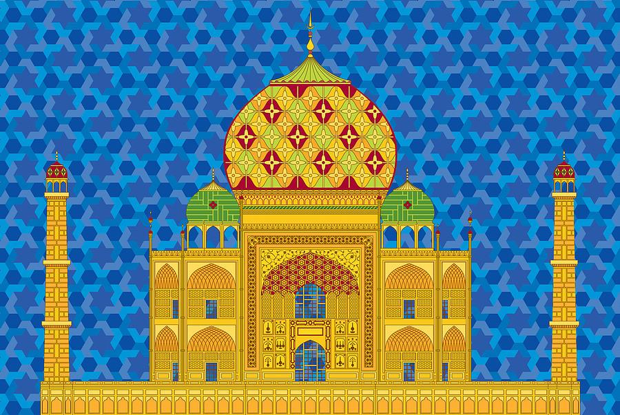 My Taj Mahal Digital Art by Vlasta Smola