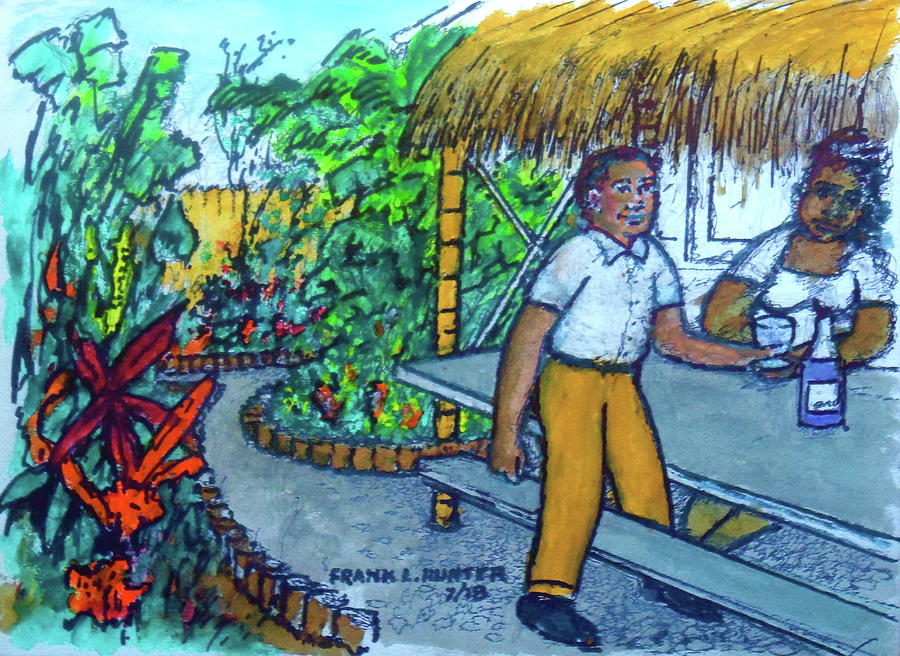 My Tiki Garden by Frank Hunter