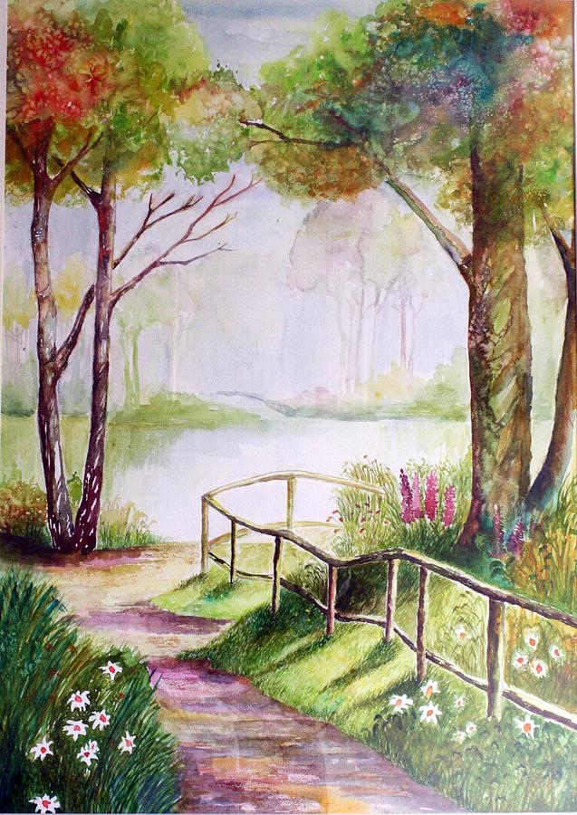 My Water Colour Painting by Ezjwa  Sofiaz