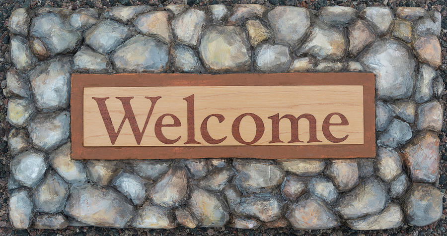 My Welcome Sign by Sheri Jo Posselt