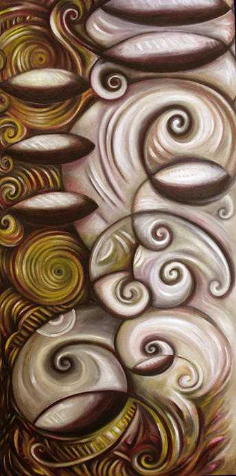 Modern Painting - My Witness Whoopie by Lina Scarfi