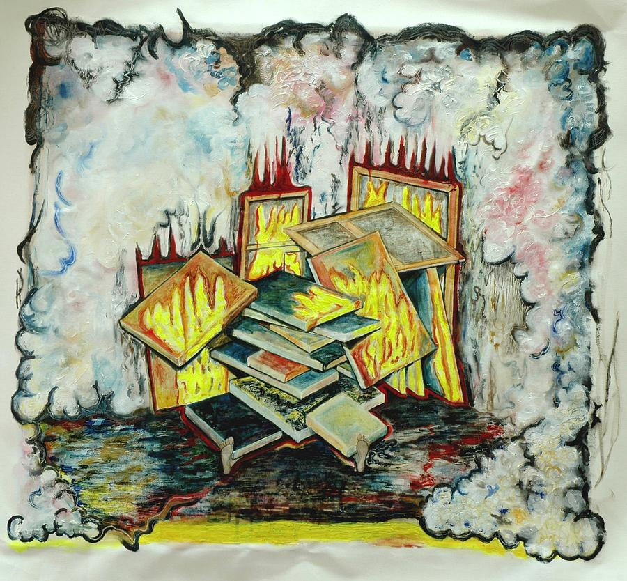Paintings Painting - My Worst Nightmare by Nea Lo