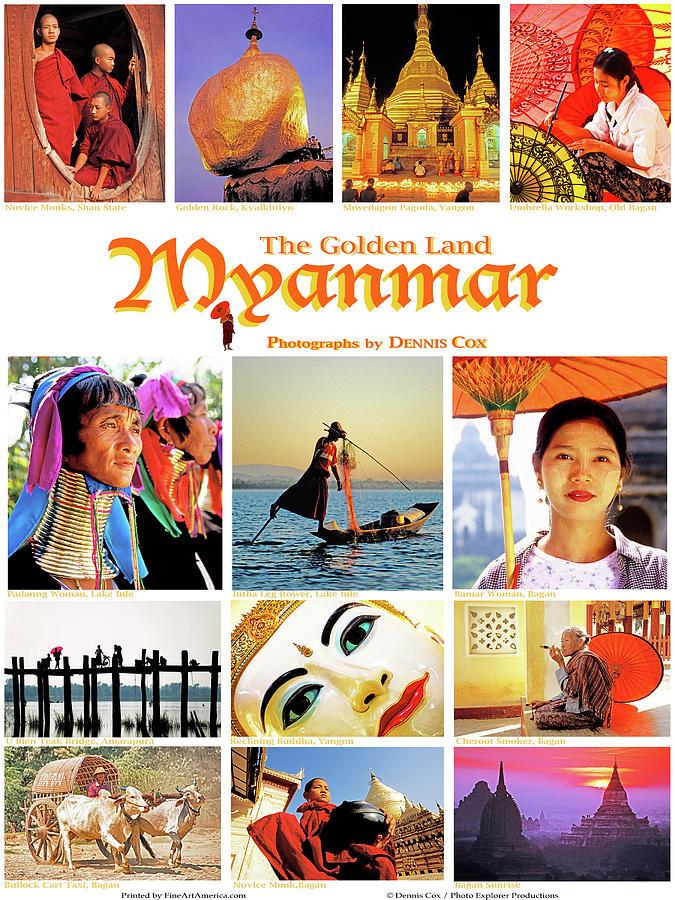 Myanmar Poster Photograph