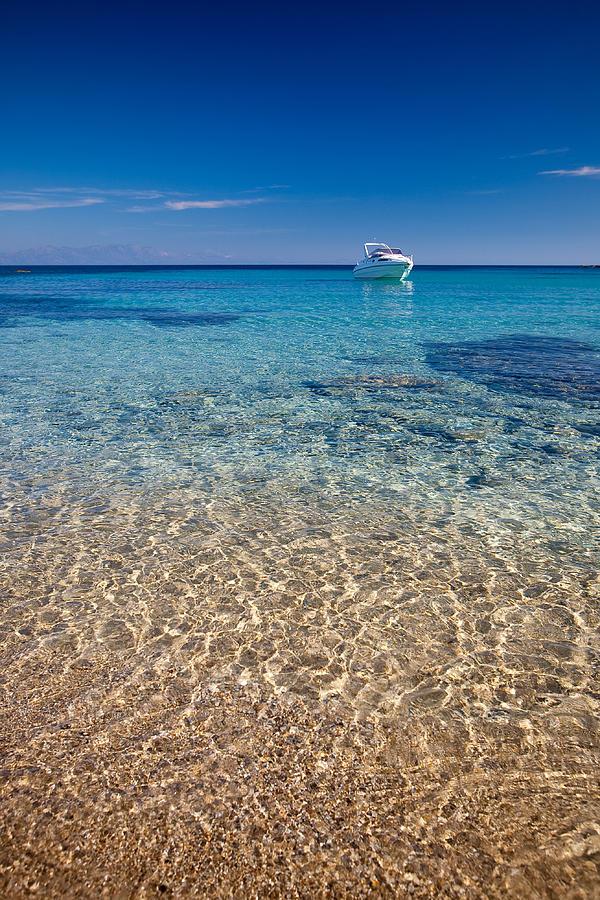 Greece Photograph - Mykonos Beach by Neil Buchan-Grant