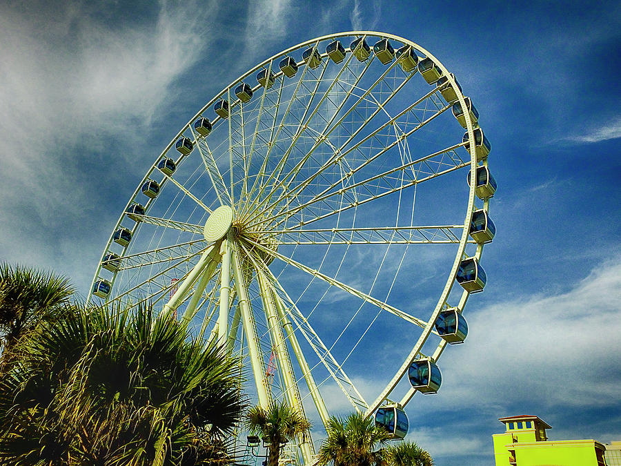 Myrtle Beach Skywheel by Bill Barber