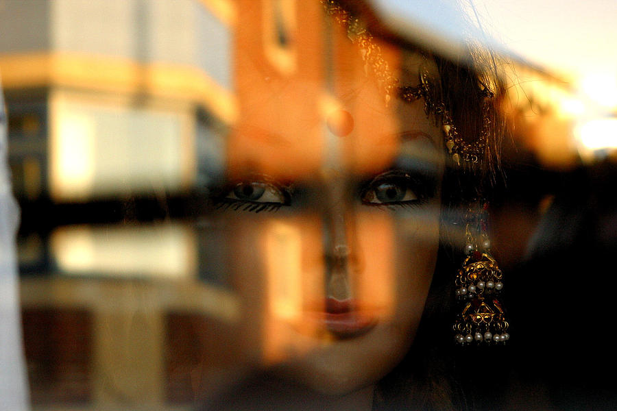 Oxfordshire Photograph - Mysterious Girl by Jez C Self