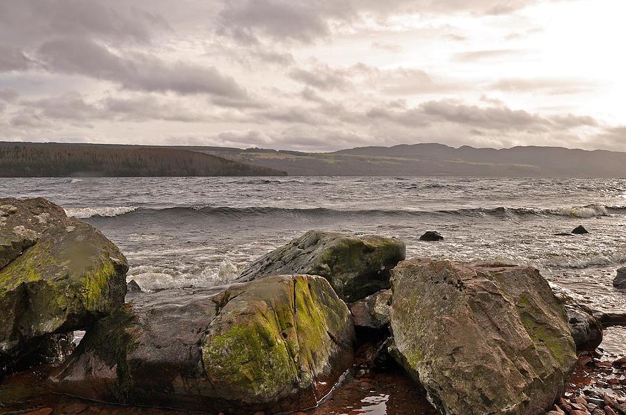 Loch Ness Photograph - Mysterious Loch Ness by Caroline Reyes-Loughrey