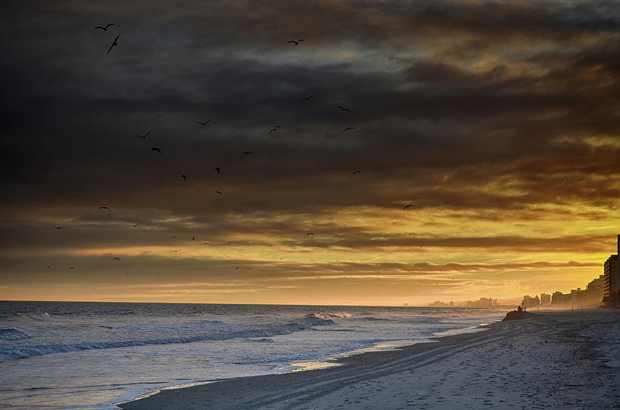 Atlantic Photograph - Mysterious Myrtle Beach by Kelly Reber