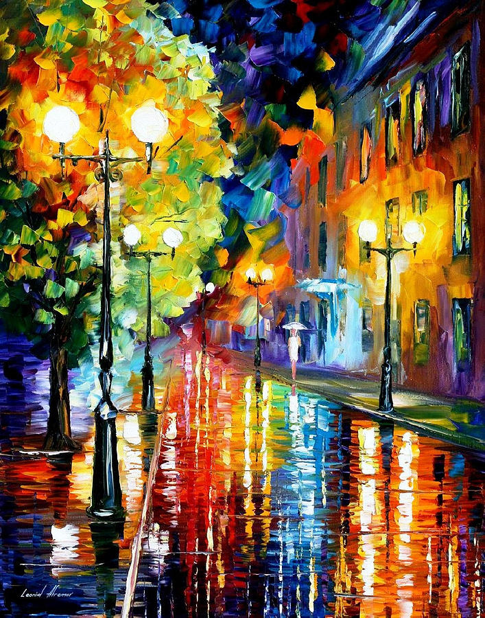TWO LLITLE SISTERS — PALETTE KNIFE Oil Painting On Canvas