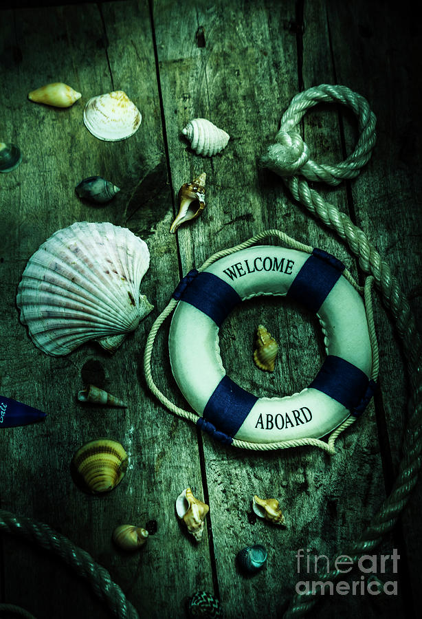 Marine Photograph - Mystery Aboard The Sunken Cruise Line by Jorgo Photography - Wall Art Gallery