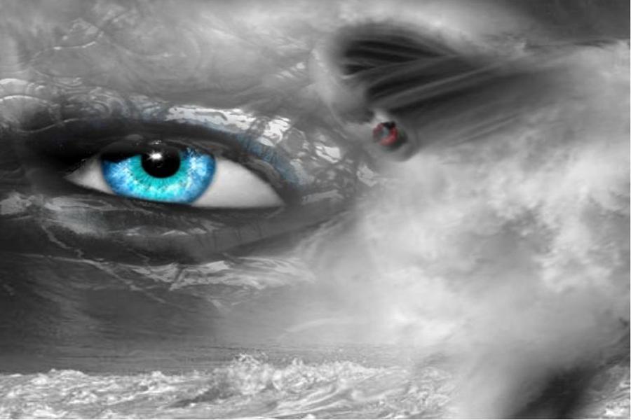 Ocean Digital Art - Mystery Ocean by Maria Datzreiter