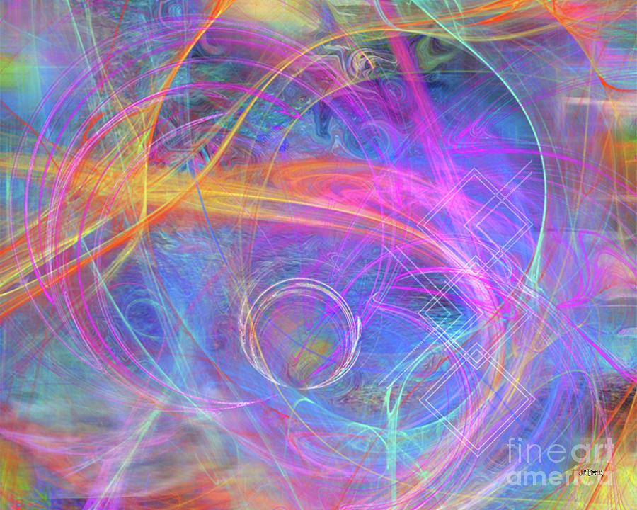 Mystic Digital Art - Mystic Beginning by John Beck