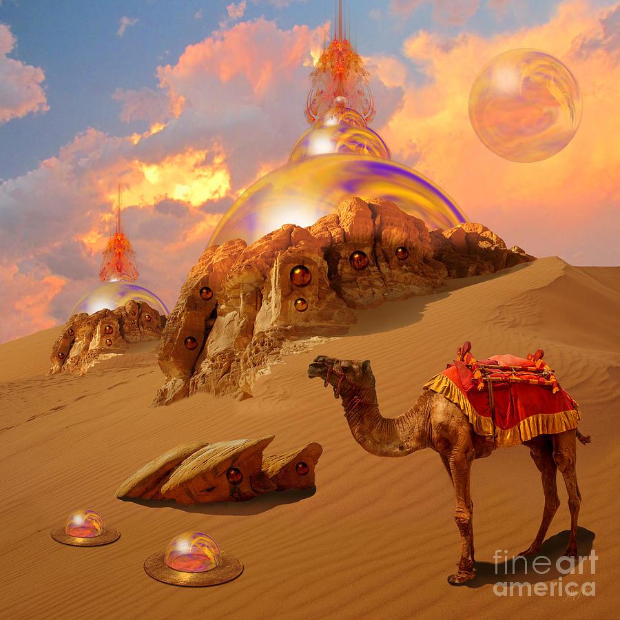 Mystic desert by Alexa Szlavics