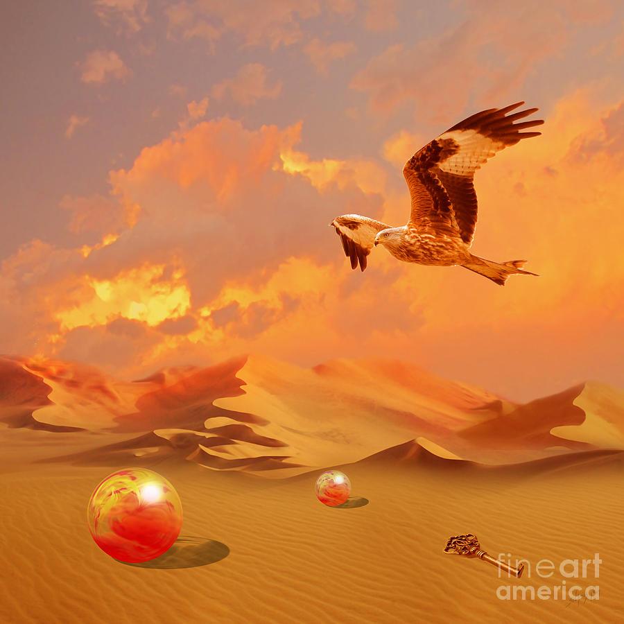 Mystic desert another planet by Alexa Szlavics