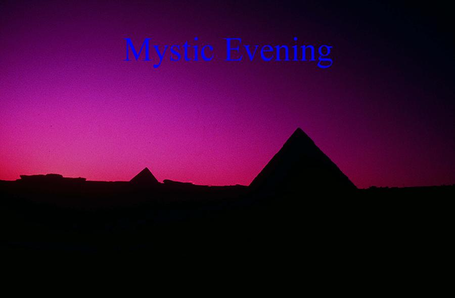 Egypt Photograph - Mystic Evening by Gary Wonning