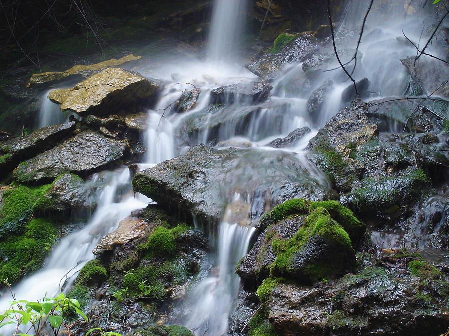 Waterfall Photograph - Mystic Falls IIi by Jim Bachmeier