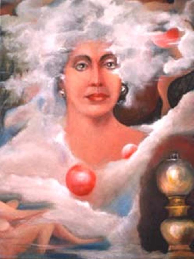 Mystic Painting by Jordana Sands