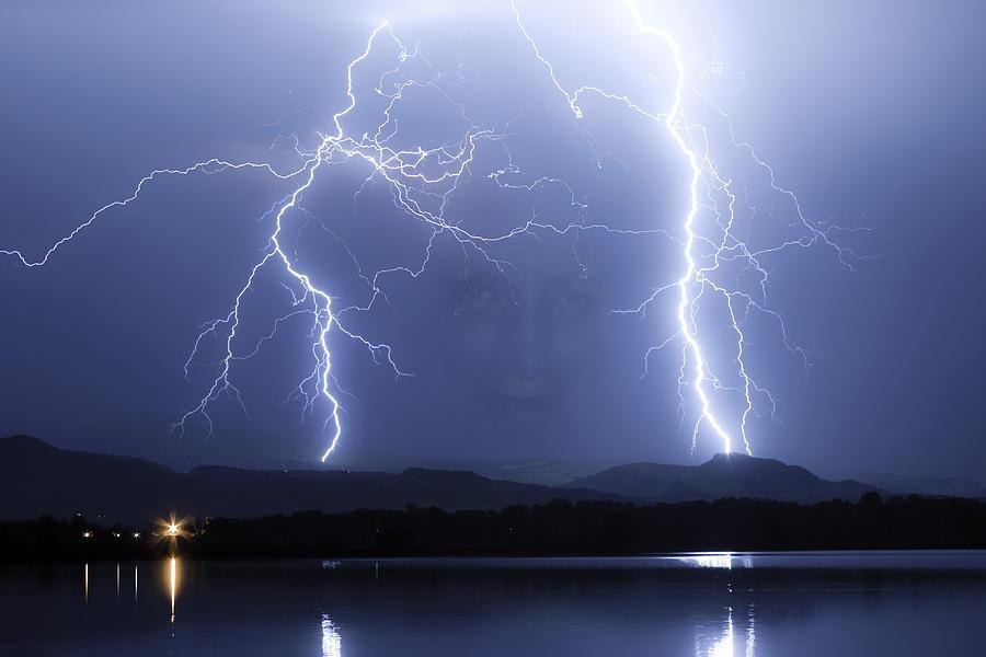 Lightning Photograph - Mystic Lightning Storm by James BO Insogna