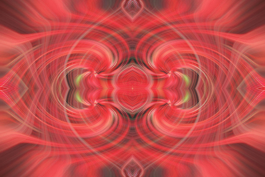 Abstract Photograph - Mystic Love by Linda Phelps