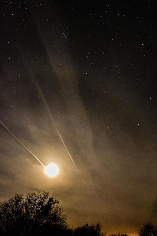 Mystic Moon Over Eden Photograph