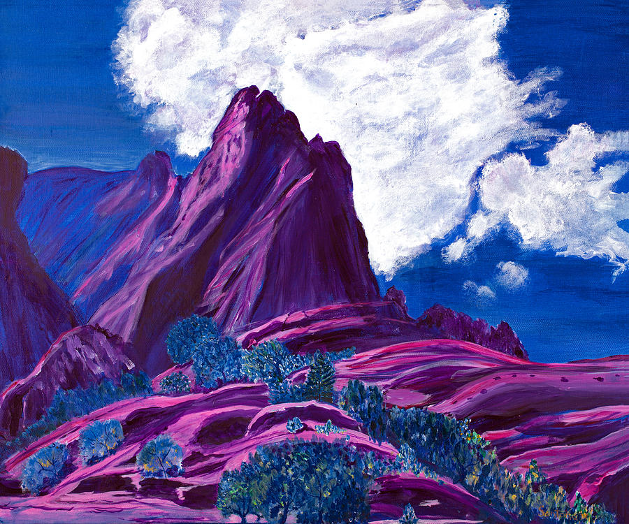 Mystic Mountain  20x24 by Santana Star