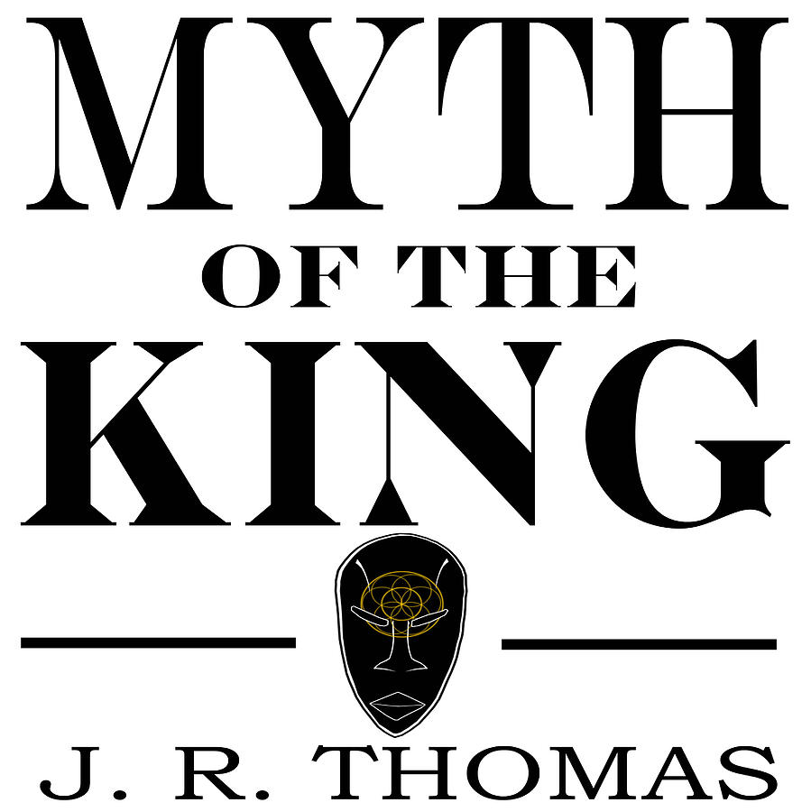 Cover Digital Art - Myth Of The King Cover by Jayvon Thomas