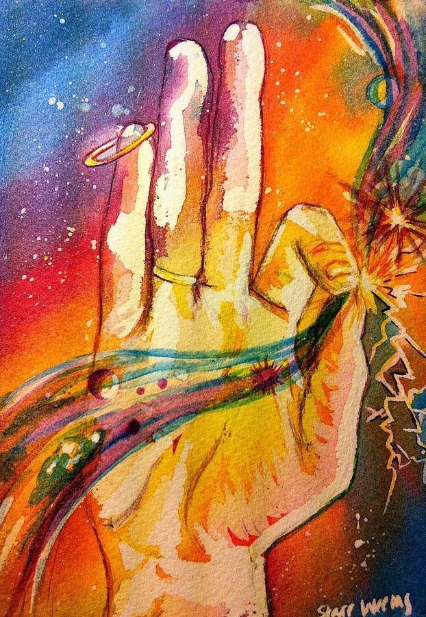 Mythology Painting - Mythology by Starr Weems