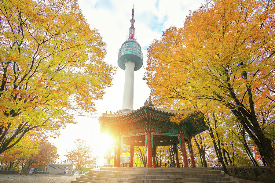 Seoul Photograph - N Seoul Tower by Anek Suwannaphoom