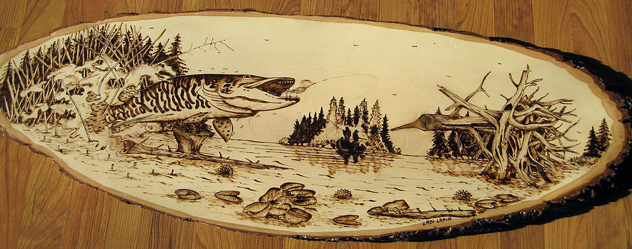 Water Pyrography - n8 by Ladi and Jane   Lapin