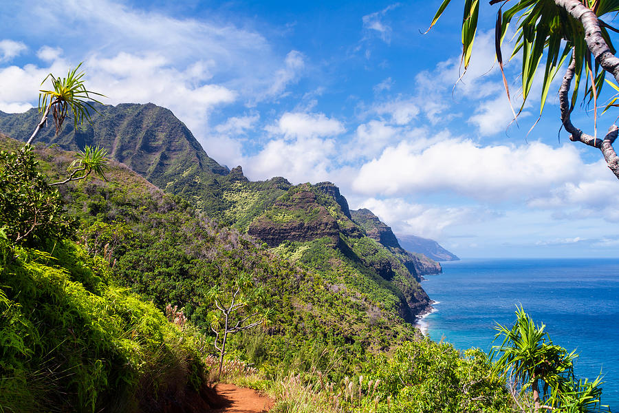 Na Pali Coast Photograph - Na Pali Coast Kauai by Brian Harig