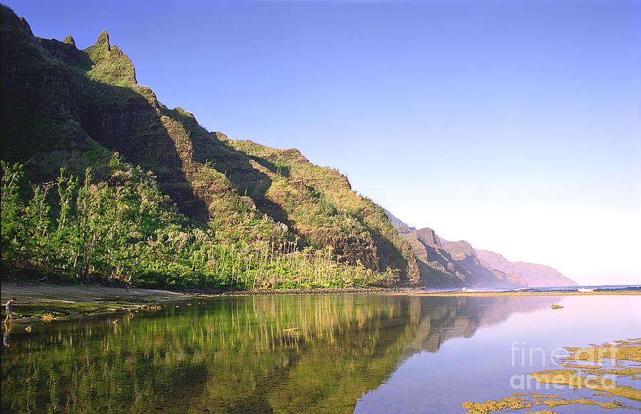 Blue Photograph - Na Pali Coast  Kauai  by Kevin Smith