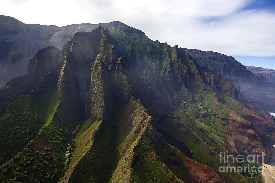 Na Pali Kauai by Shishir Sathe