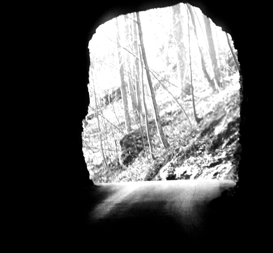 Nada Tunnel Exit Photograph