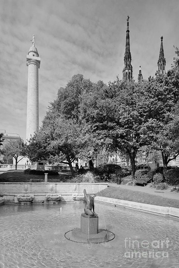 Naiad Photograph - Naiad Fountain by Jost Houk