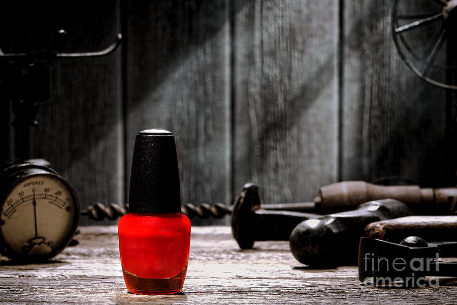 Bottle Photograph - Nail Polish by Olivier Le Queinec